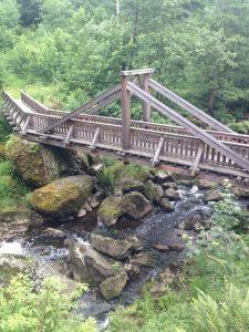 Höllental Holzbrücke
