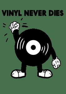 Plattenspieler, Vinyl und CD- / Schallplattencover im