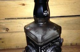 Motörhead Snaggletooth auf Jack Daniels Flasche