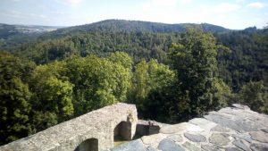 Lichtenberg Burgmauern