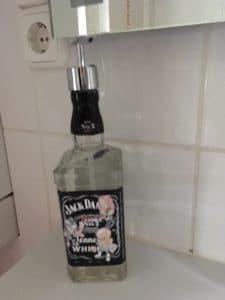 Jack Daniels Seifen-, Essig- u. Ölspender