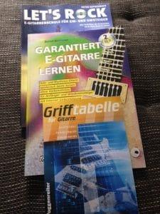 E-Gitarre lernen Bücher