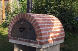 Pizzaofen für Mettallerpartys mit Schamottsteinen selber bauen