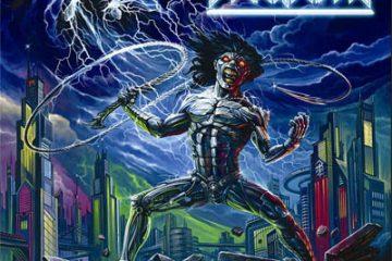 """BLACKSLASH """"Lightning Strikes Again"""" - Cover, Tracklist, Veröffentlichungsdatum: 04. Mai 2018"""