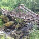 Höllentalbrücken / Frankenwaldbrücken: Längste Hängebrücke der Welt über das Höllental im Frankenwald