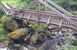 Die Höllentalbrücken / Frankenwaldbrücken – Hängebrücken über das Höllental in Lichtenberg im Frankenwald