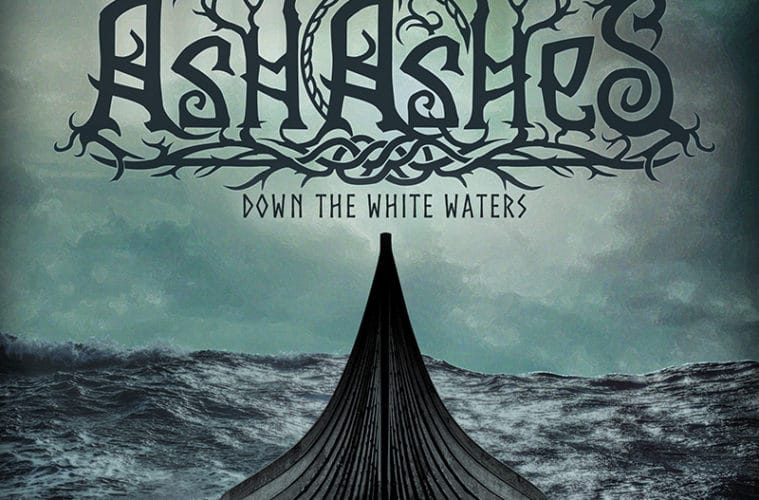 "Frontcover • ""Down The White Waters"" • Artwork von Tabea Boden"