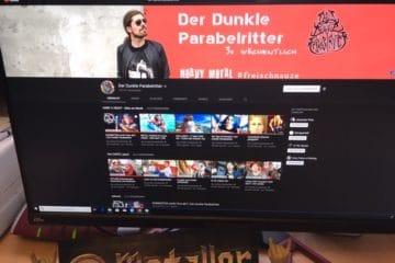 """Der Heavy Metal Youtuber """"Der dunkle Parabelritter"""""""