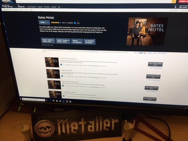 Die amerikanische Thriller-Serie Bates Motel um Norman Bates
