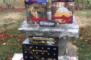 Bier Adventskalender mit Pils, Weißbier, Hellem oder Craft Beer