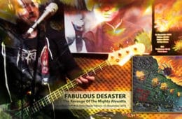 "FABULOUS DESASTER: veröffentlichen ""The Revenge Of The Mighty Alouatta"" Lyricvideo!"