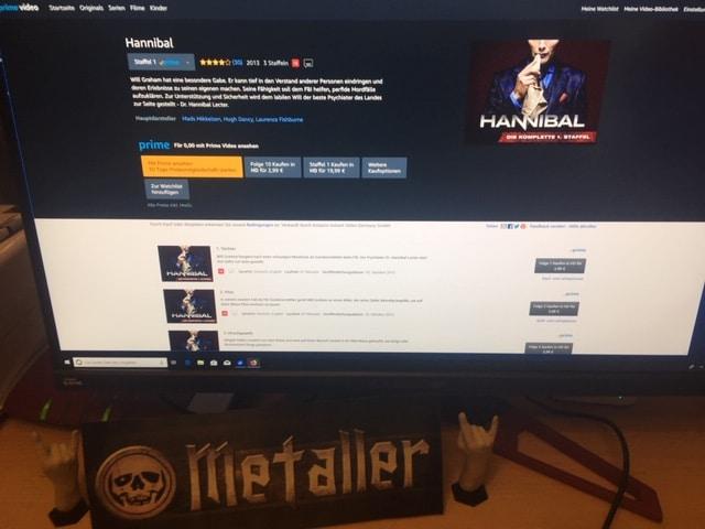 Die US-amerikanische Krimiserie Hannibal um Hannibal Lecter