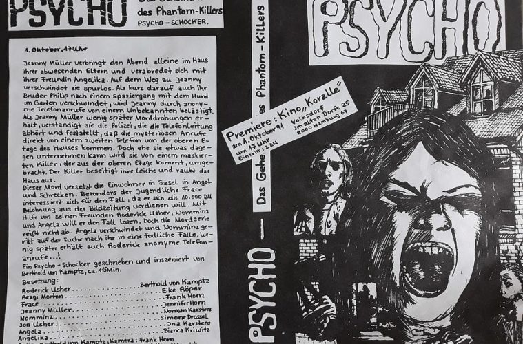 """Der Film """"Psycho- Das Geheimnis des Phantom-Killers"""""""