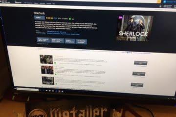 Klug gemachte Fernsehserie Sherlock von der BBC