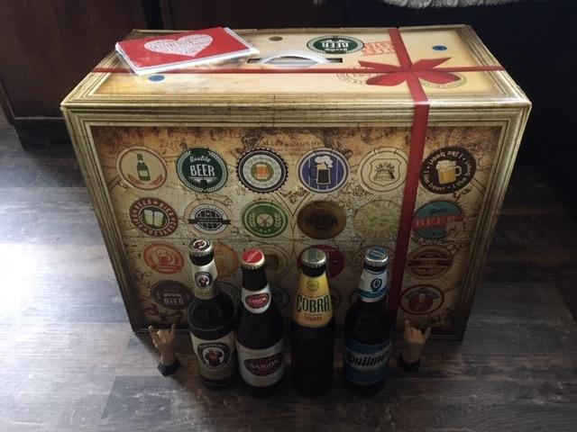 Bier Adventskalender: 15 Biere aus Deutschland und 9 Biere aus dem Rest der Welt