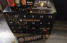 Bier Adventskalender BierSelect - 24 verschiedene Biere aus Deutschland
