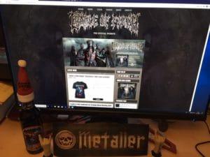 Interview mit Paul Allender (Cradle Of Filth) vom 09.11.2012