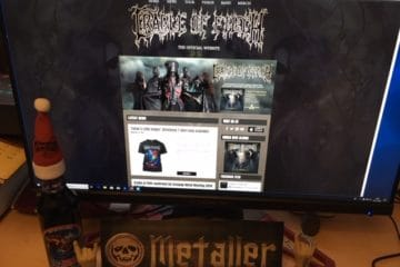 Interview mit Paul Allender (Cradle Of Filth) vom 09.11.2012
