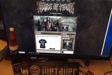 Cradle of Filth - die britischen Black Metaller rund um Dani Filth