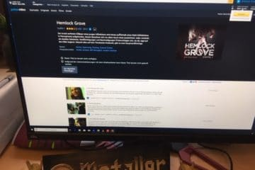 Die Fernsehserie Hemlock Grove nach gleichnamigen Roman von Brian McGreevy
