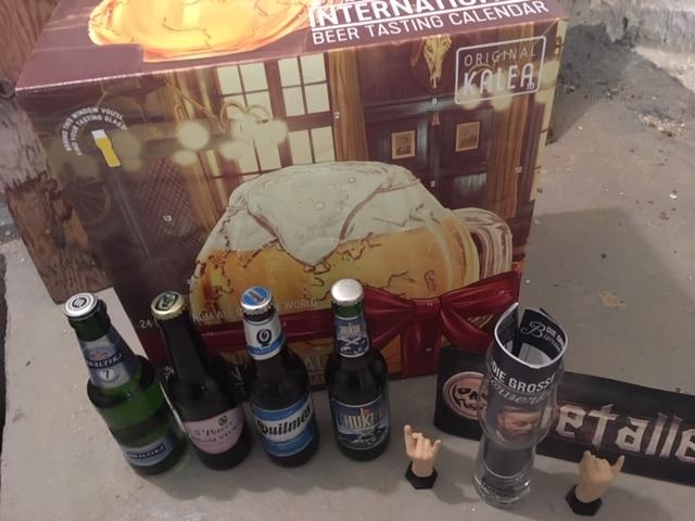 Kalea Bieradventskalender internationale Biere aus vielen Ländern