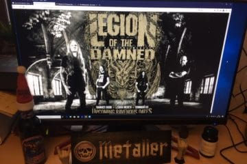 Interview mit Legion Of The Damned (Neckbreaker´s Ball-Tour) vom 15.02.2011