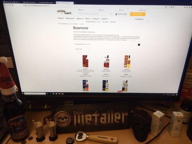 Bowmore - der schottische Whisky mit dem speziellen Geschmack