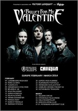 Bullet For My Valentine, Callejon, Coldrain