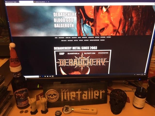 Debauchery - feinster Death Metal für Heavy Metal-Partys