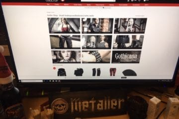 Gothic Modelabels und Gothic Kleidung im EMP Online Shop