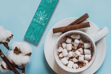 Gemütliche Feiertage: So können Sie heiße Schokolade mit CBD Öl zubereiten