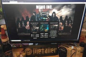 Mono Inc. - die Firma der Teilwahnsinnigen um Martin Engler
