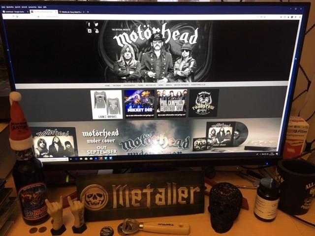 Motörhead mit Lemmy Kilmister am Bass