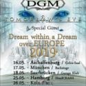 "TOMORROW'S EVE und DGM geben die Deutschland-Termine ihrer gemeinsamen ""Dream Within A Dream Over Europe"" Co-Headliner Tour bekannt"