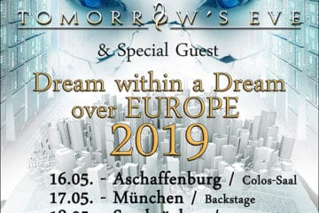 "Tomorrow's Eve & DGM: Weitere Shows für ""Dream Within A Dream Over Europe"" Tour"