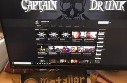 """Der Metal Youtuber Captain Drunk mit dem """"Metal Mittwoch"""""""