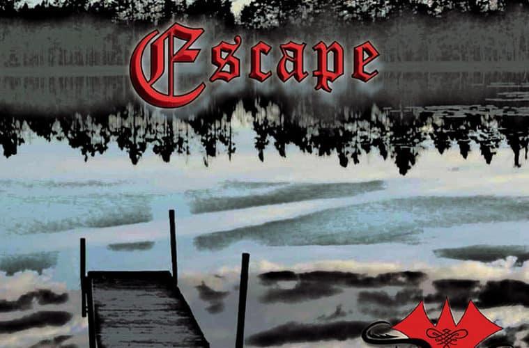"""DRUNKEN FOOLS - Album """"Escape"""" (Atmospheric Rock) Frontcover • """"Escape"""""""