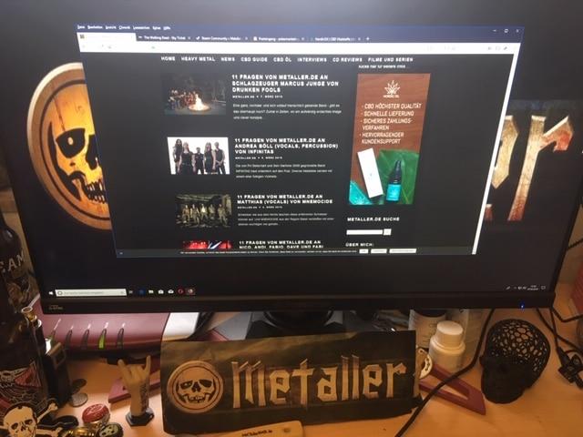 Infos zu Interview mit deiner Band (11 Fragen von metaller.de an ...)