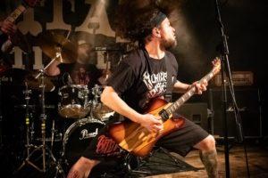 David Blechschmidt (Gitarre und Gesang) von Killing Capacity