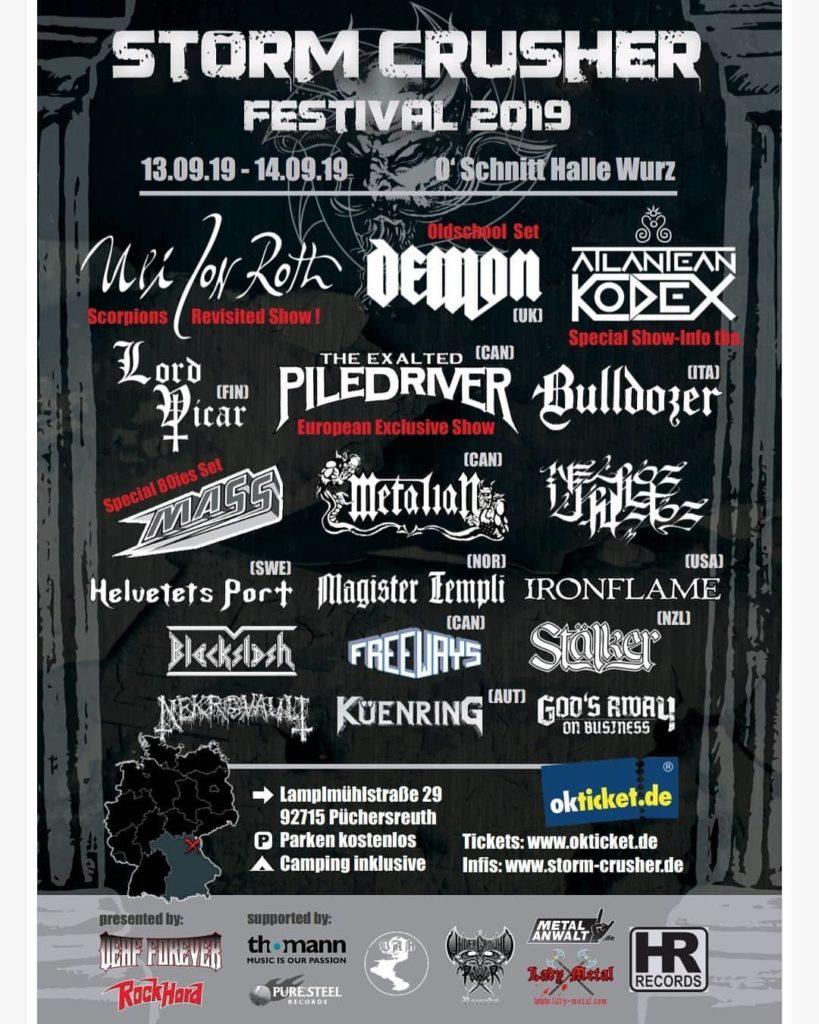 Das Storm Crusher Festival ist nach einem Jahr Pause zurück!