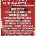 """Line-Up komplett: """"Hütte Rockt Festival 13"""" am 09. & 10.08.2019 in Georgsmarienhütte (bei Osnabrück)"""