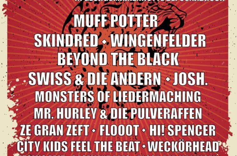"""Line-Up komplett: """"Hütte Rockt Festival 13"""""""