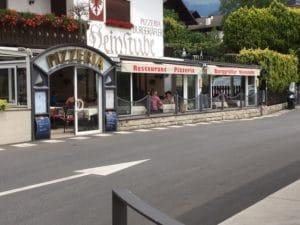 Zu empfehlen: Pizzeria Weinstube Burggräfler