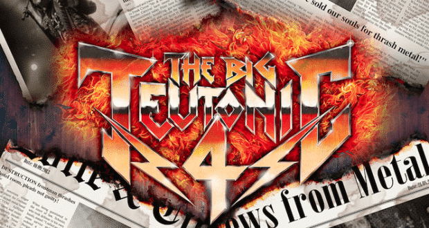 The Big Teutonic 4 (Thrash Metal) - Kreator, Sodom, Destruction und Tankard