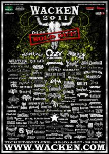 Wacken Open Air W:O:A 2011 – 22 Years Faster Harder Louder