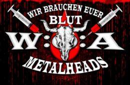 Metal-Fans im Blutrausch - erfolgreiche Wacken Open Air Blutspendenaktion