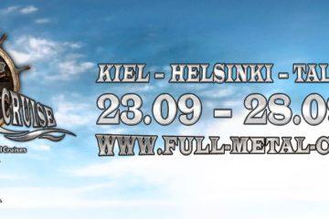 Full Metal Cruise IX kündigt Termin, Kurs und erste Bands an