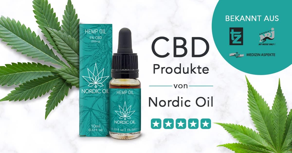 CBD Produkte von Nordicoil