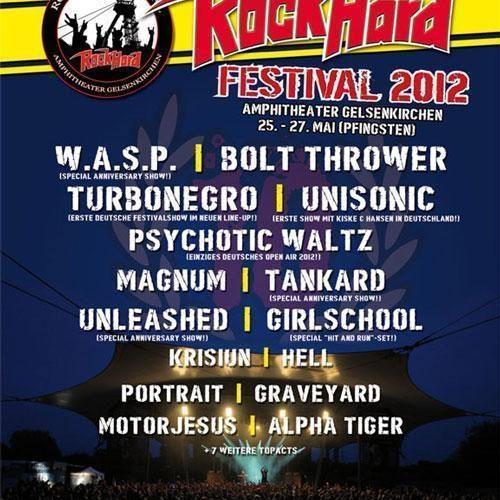 Rock Hard Festival 2012 im Amphitheater in Gelsenkirchen