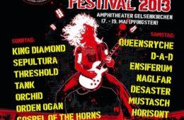 Rock Hard Festival 2013 im Amphitheater in Gelsenkirchen